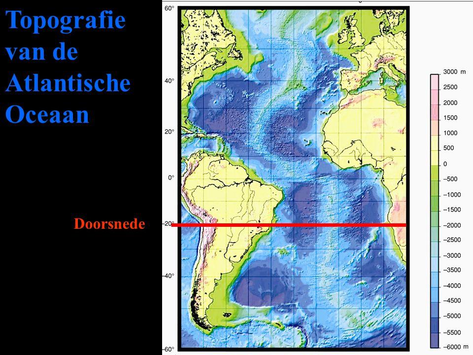 Topografie van de Atlantische Oceaan