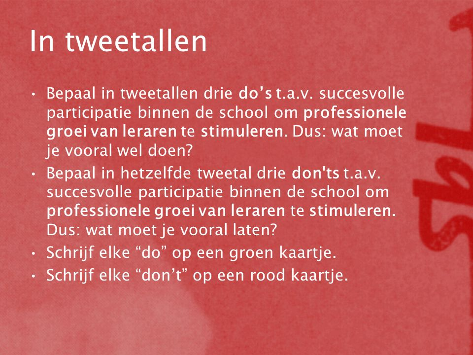 In tweetallen