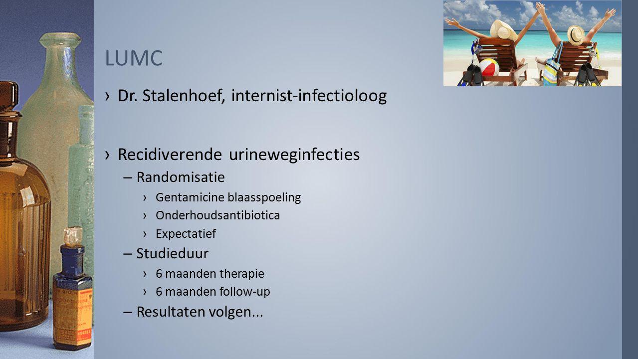 LUMC Dr. Stalenhoef, internist-infectioloog