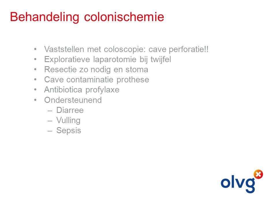 Behandeling colonischemie