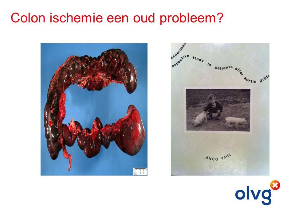 Colon ischemie een oud probleem