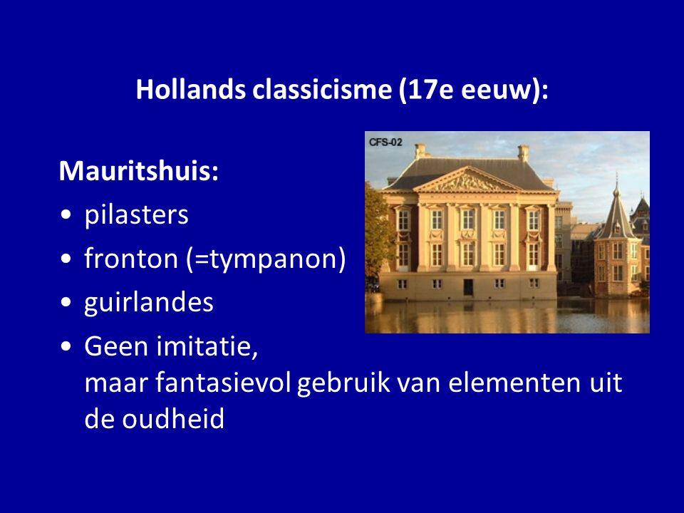 Hollands classicisme (17e eeuw):