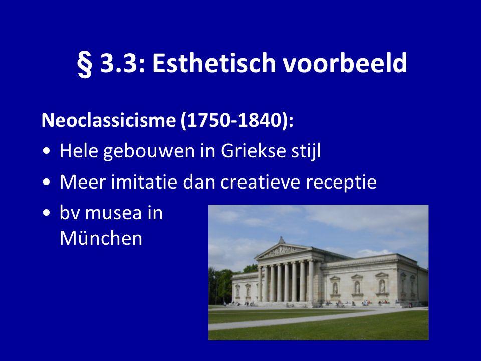 § 3.3: Esthetisch voorbeeld