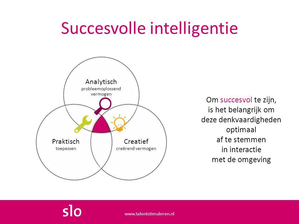 Succesvolle intelligentie