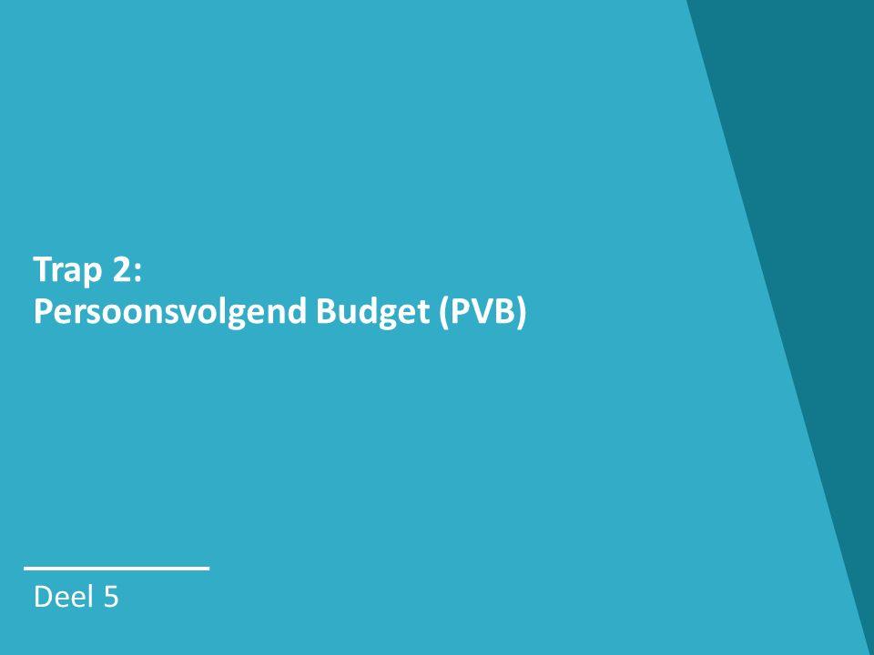 Trap 2: Persoonsvolgend Budget (PVB)