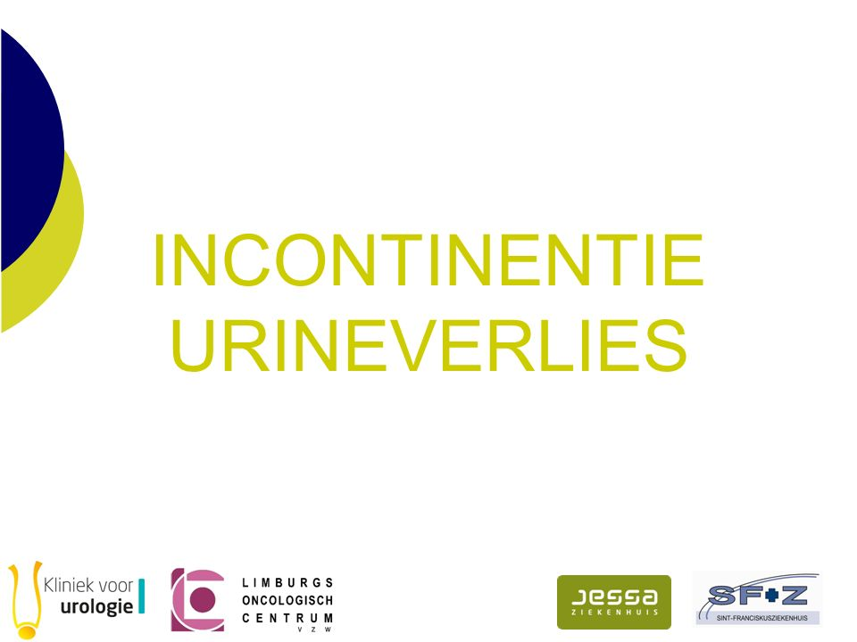INCONTINENTIE URINEVERLIES