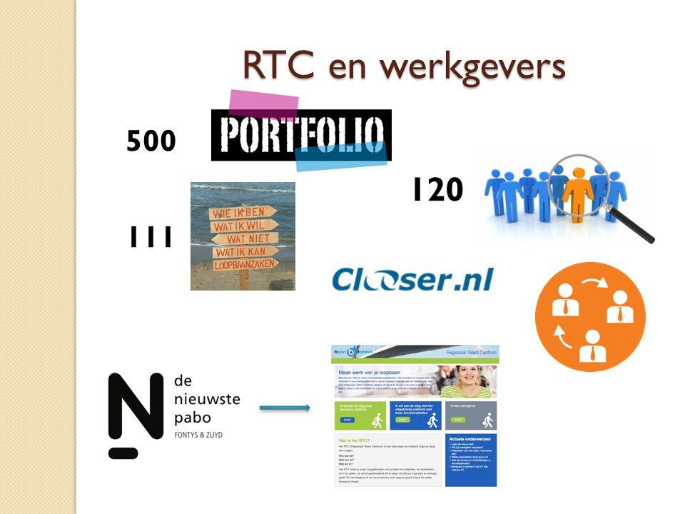 RTC en werkgevers 500 120 111