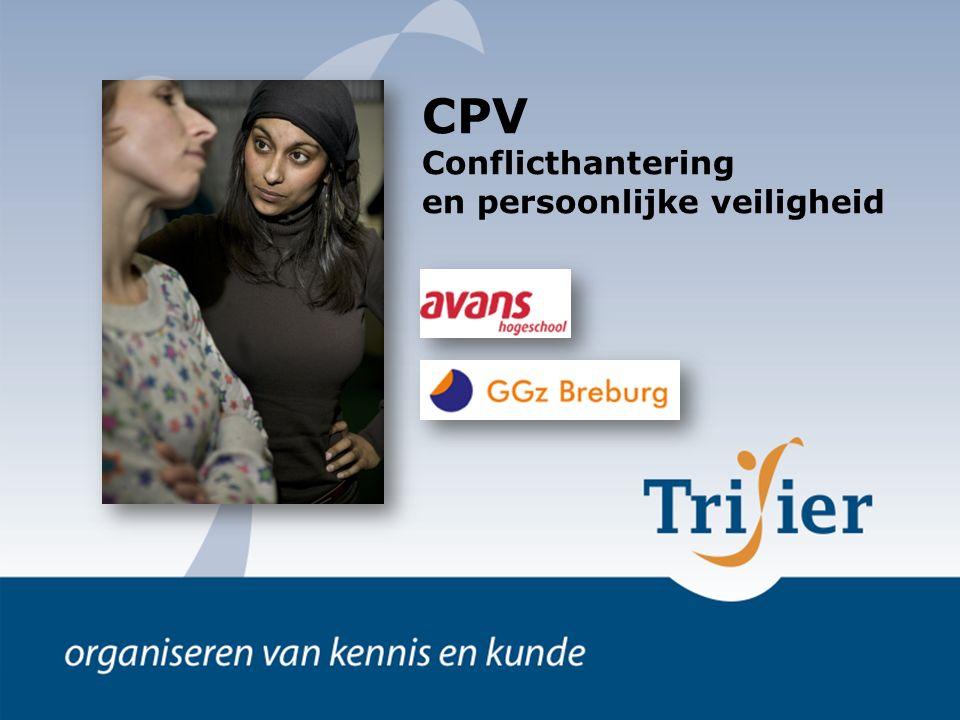 CPV Conflicthantering en persoonlijke veiligheid