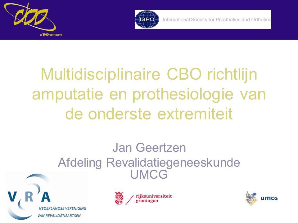 Jan Geertzen Afdeling Revalidatiegeneeskunde UMCG