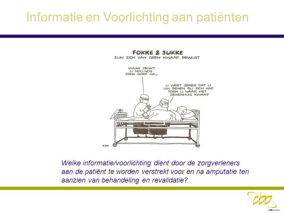 Informatie en Voorlichting aan patiënten