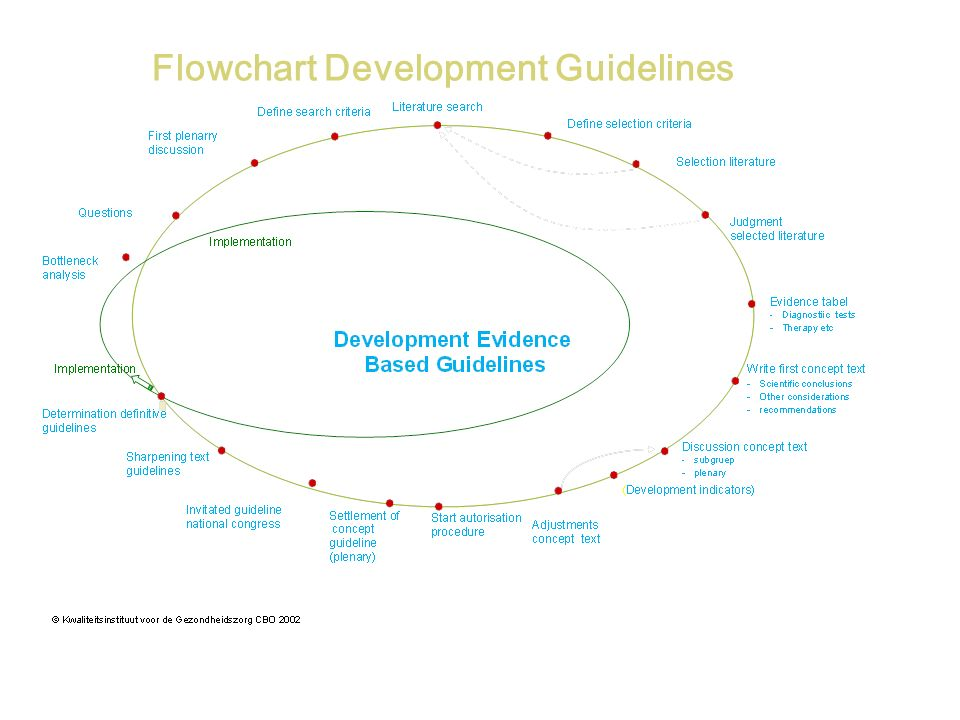 Flowchart Development Guidelines