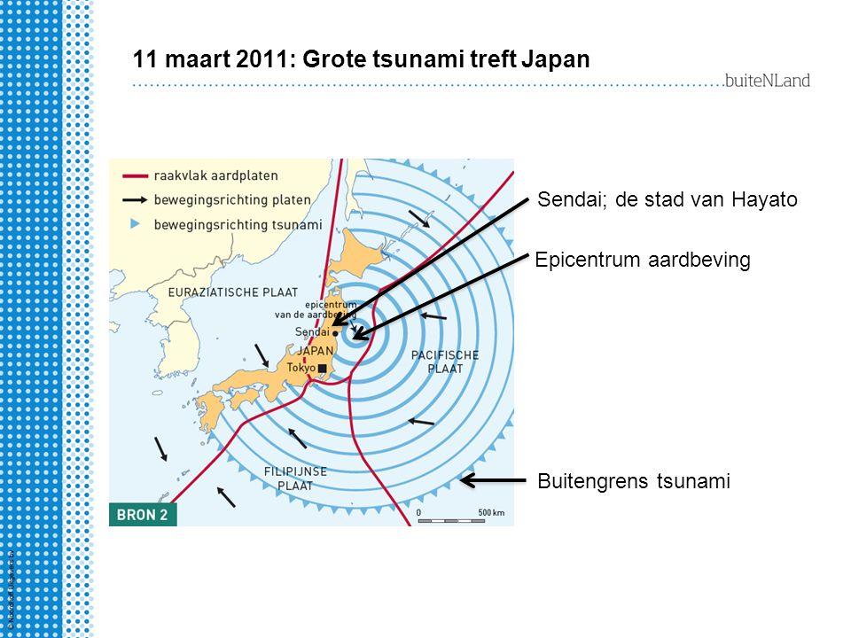 11 maart 2011: Grote tsunami treft Japan
