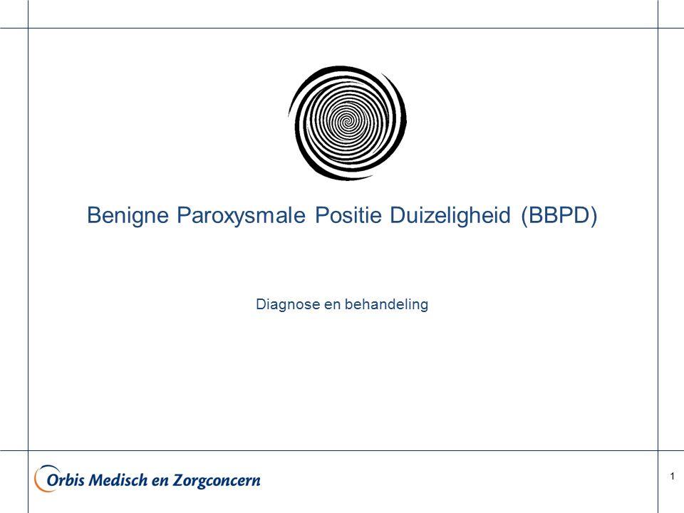 Benigne Paroxysmale Positie Duizeligheid (BBPD)