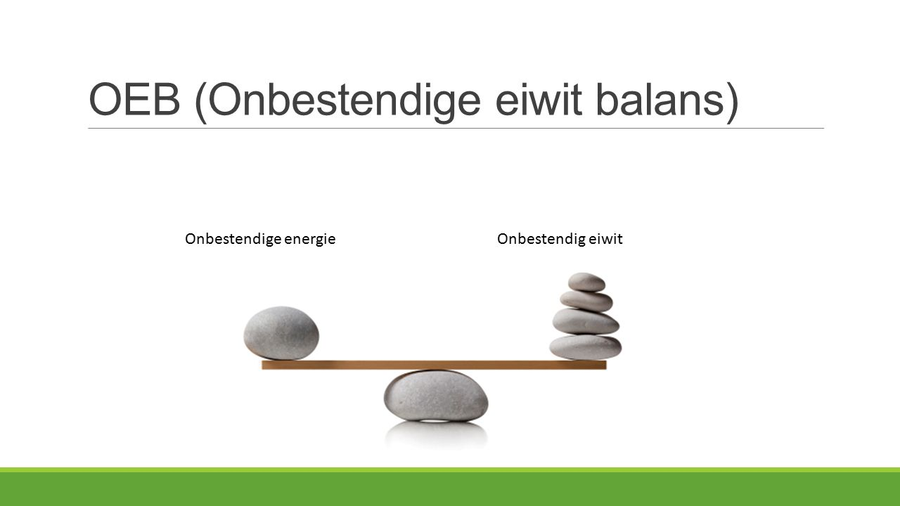OEB (Onbestendige eiwit balans)