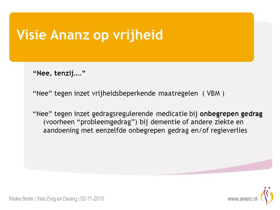 Visie Ananz op vrijheid