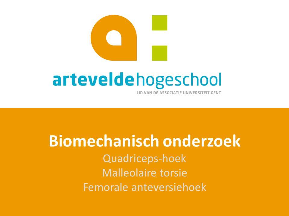 Biomechanisch onderzoek