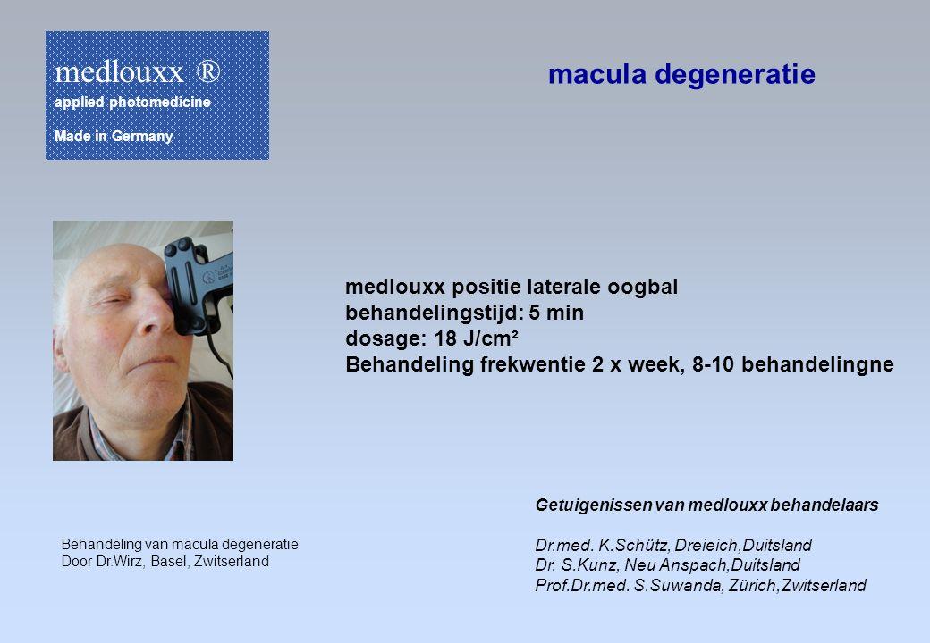 medlouxx ® macula degeneratie medlouxx positie laterale oogbal