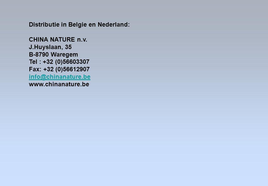 Distributie in Belgie en Nederland: