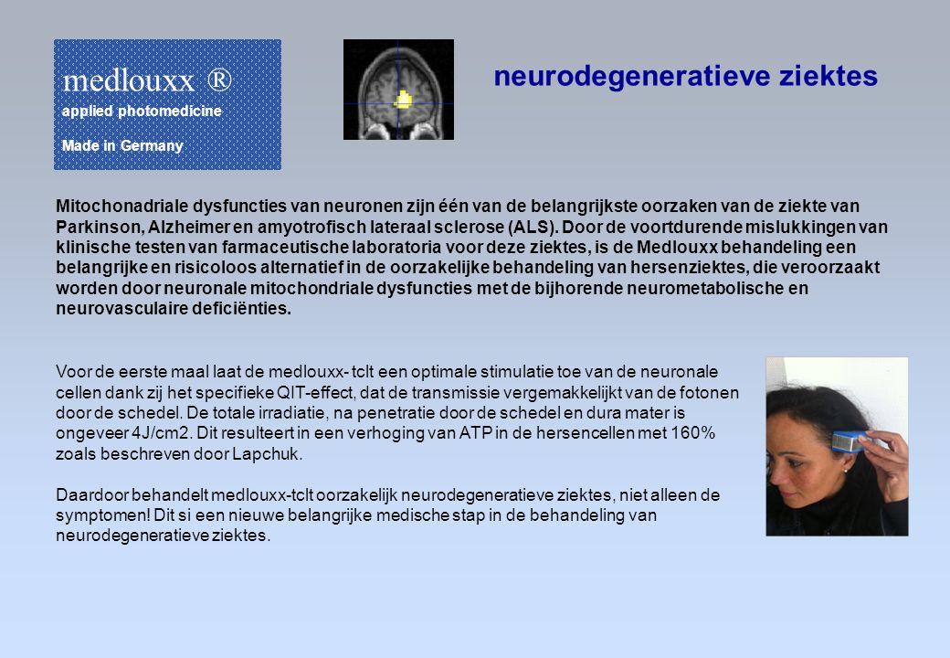 medlouxx ® neurodegeneratieve ziektes
