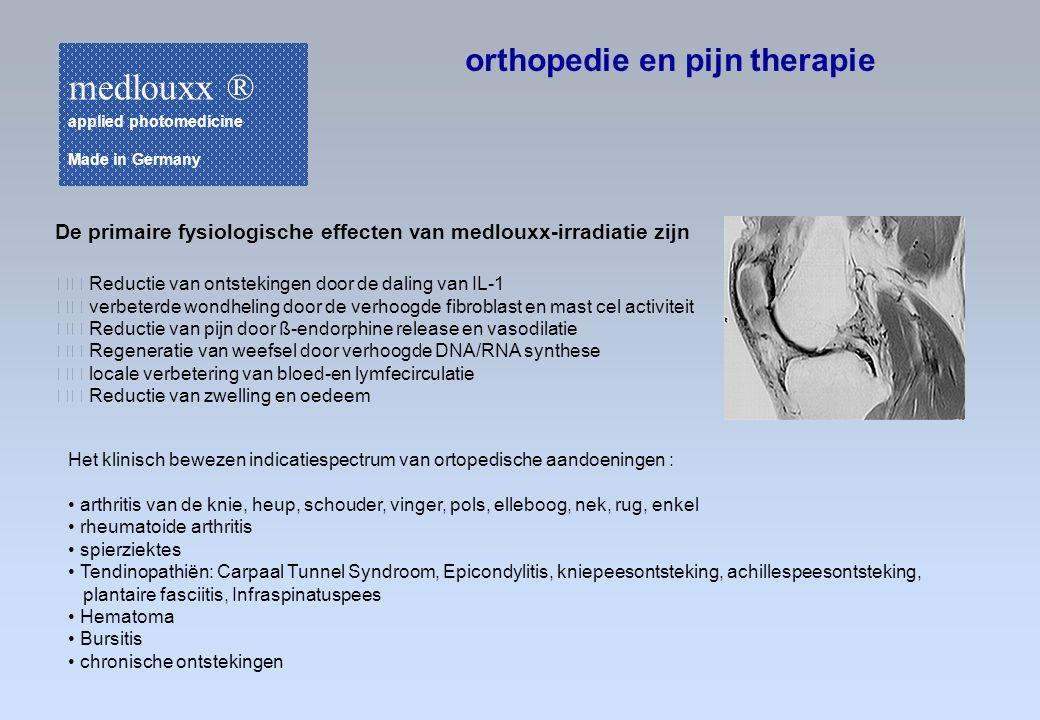 medlouxx ® orthopedie en pijn therapie