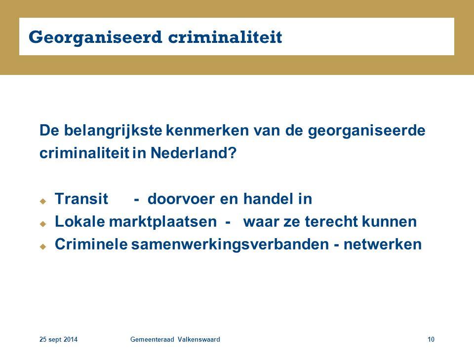 Georganiseerd criminaliteit