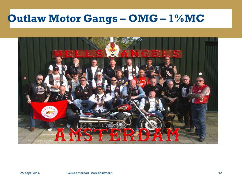 Outlaw Motor Gangs – OMG – 1%MC
