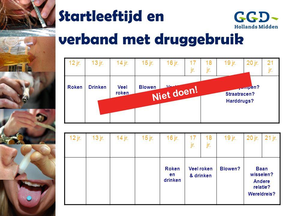 verband met druggebruik