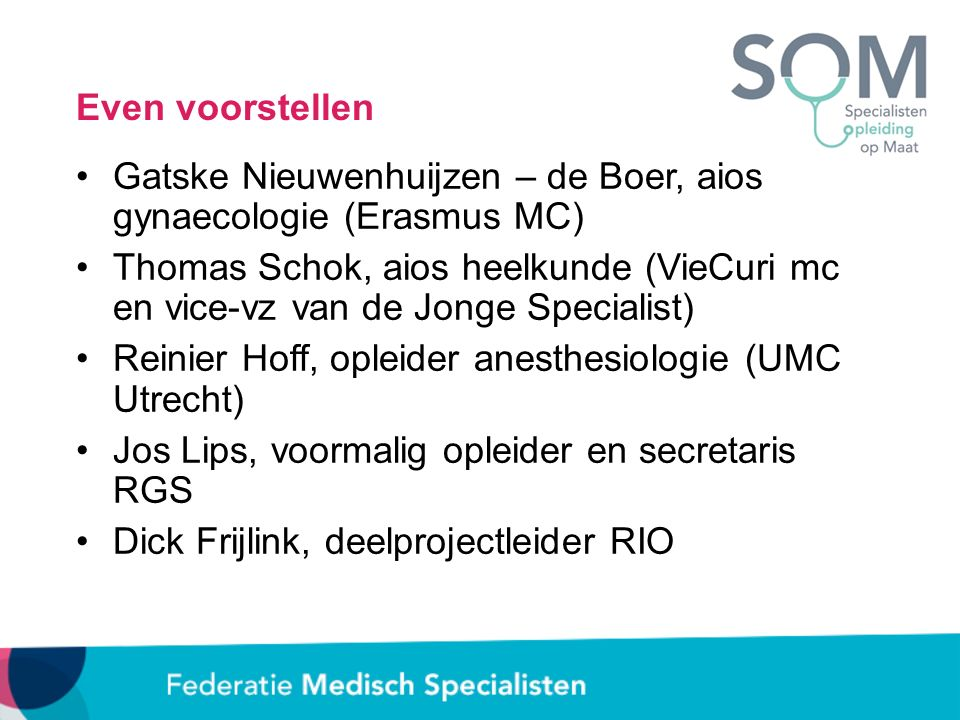 Even voorstellen Gatske Nieuwenhuijzen – de Boer, aios gynaecologie (Erasmus MC)