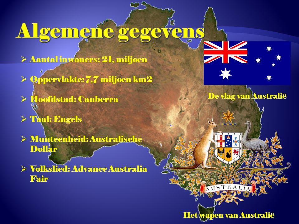 Het wapen van Australië
