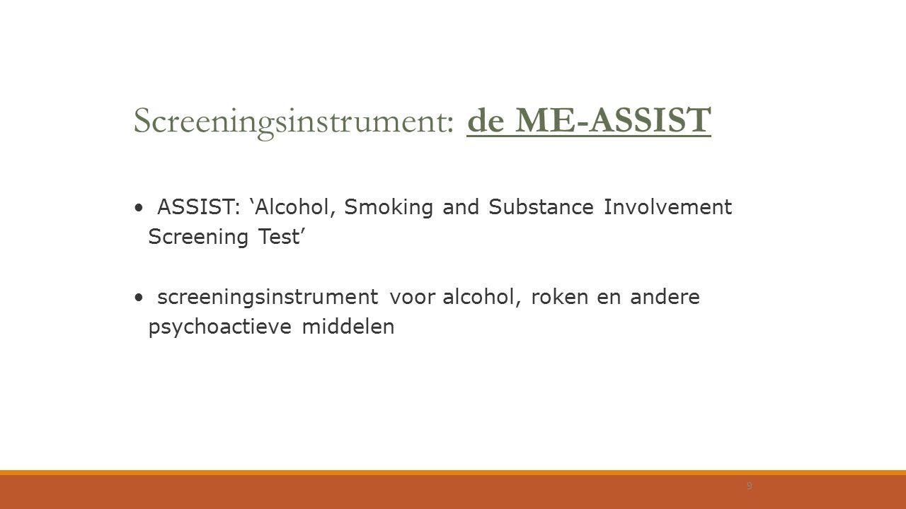 Screeningsinstrument: de ME-ASSIST