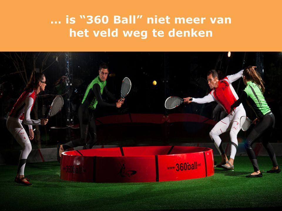 … is 360 Ball niet meer van het veld weg te denken