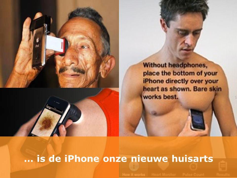 … is de iPhone onze nieuwe huisarts