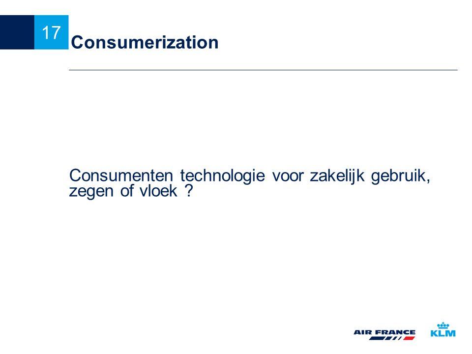 Consumenten technologie voor zakelijk gebruik, zegen of vloek