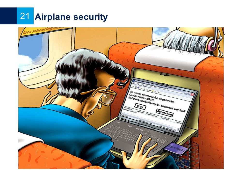 Airplane security