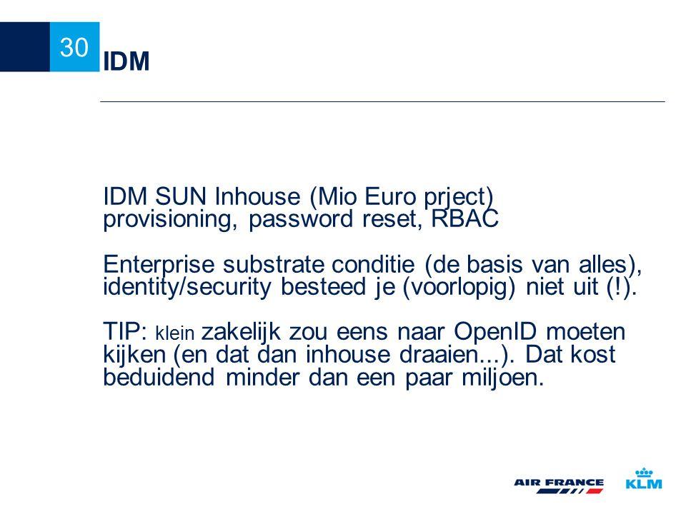 IDM IDM SUN Inhouse (Mio Euro prject)
