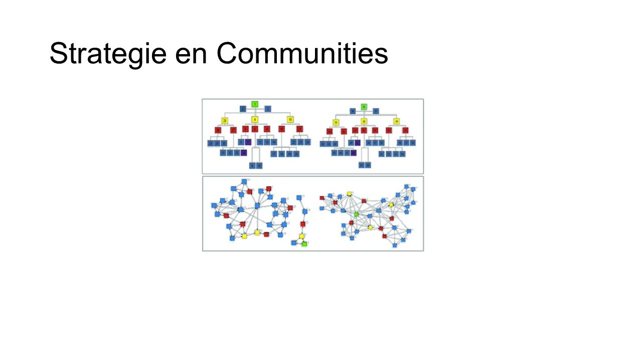 Strategie en Communities