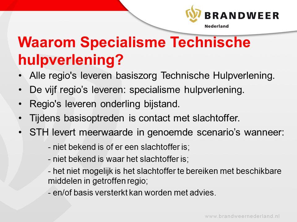Waarom Specialisme Technische hulpverlening