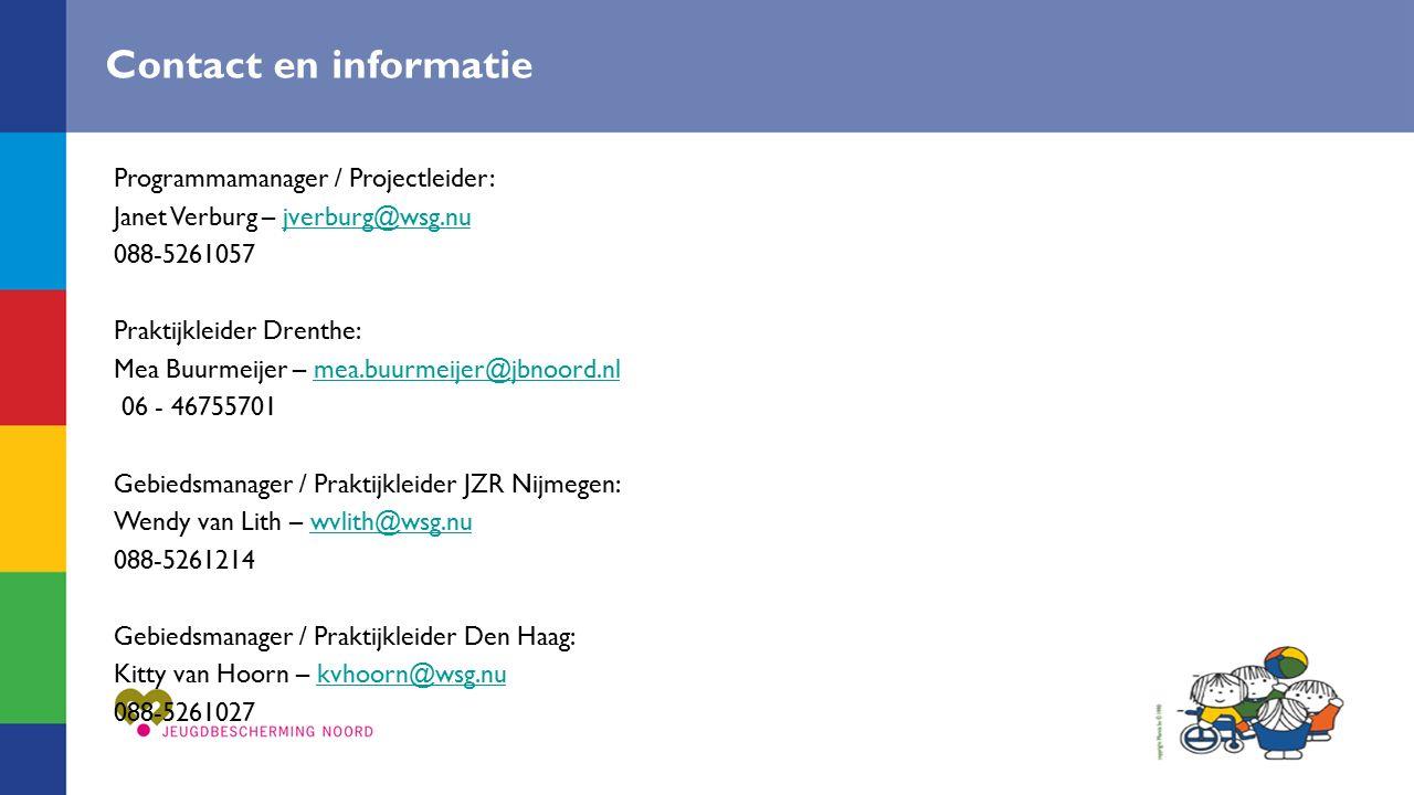 Contact en informatie