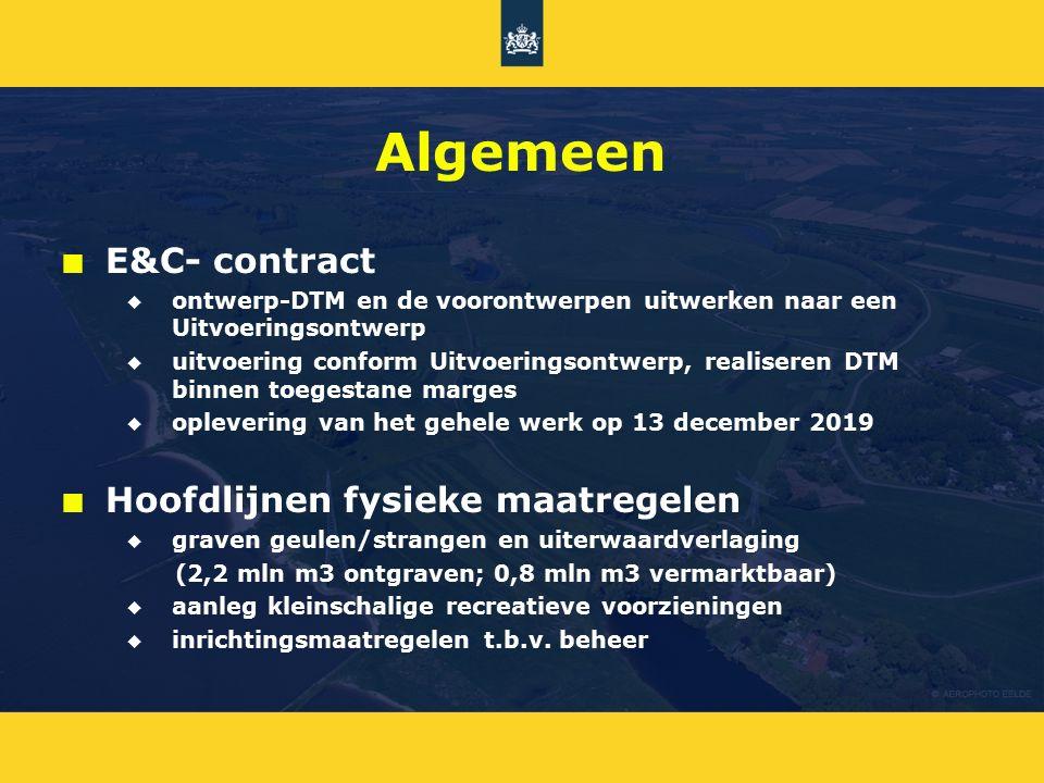 Algemeen E&C- contract Hoofdlijnen fysieke maatregelen
