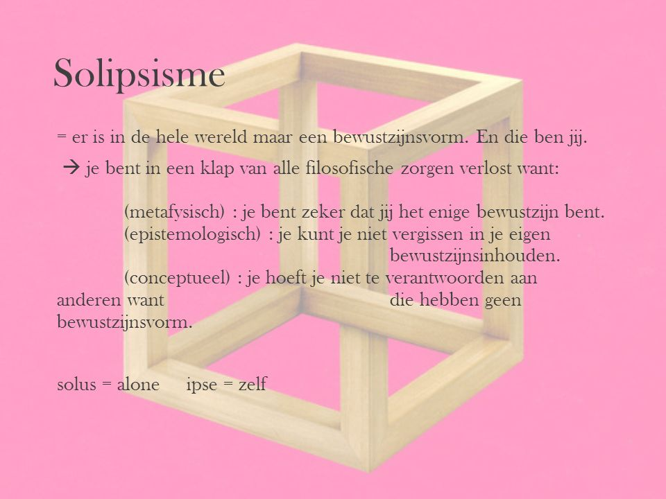 Solipsisme