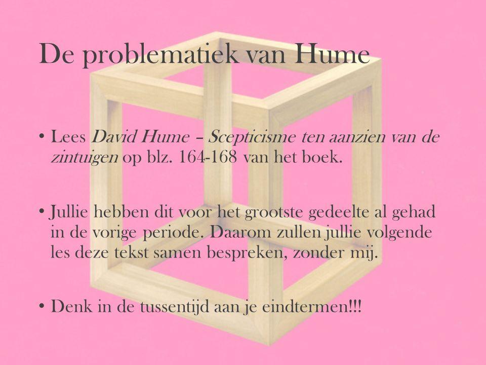 De problematiek van Hume