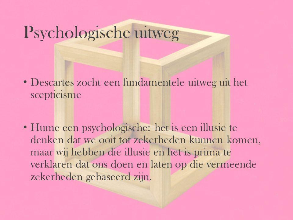 Psychologische uitweg