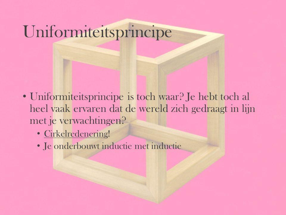 Uniformiteitsprincipe