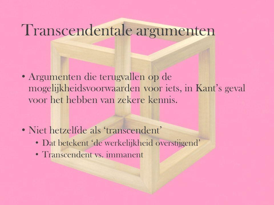 Transcendentale argumenten