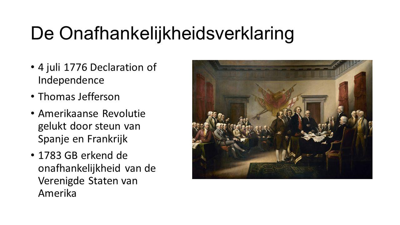 De Onafhankelijkheidsverklaring