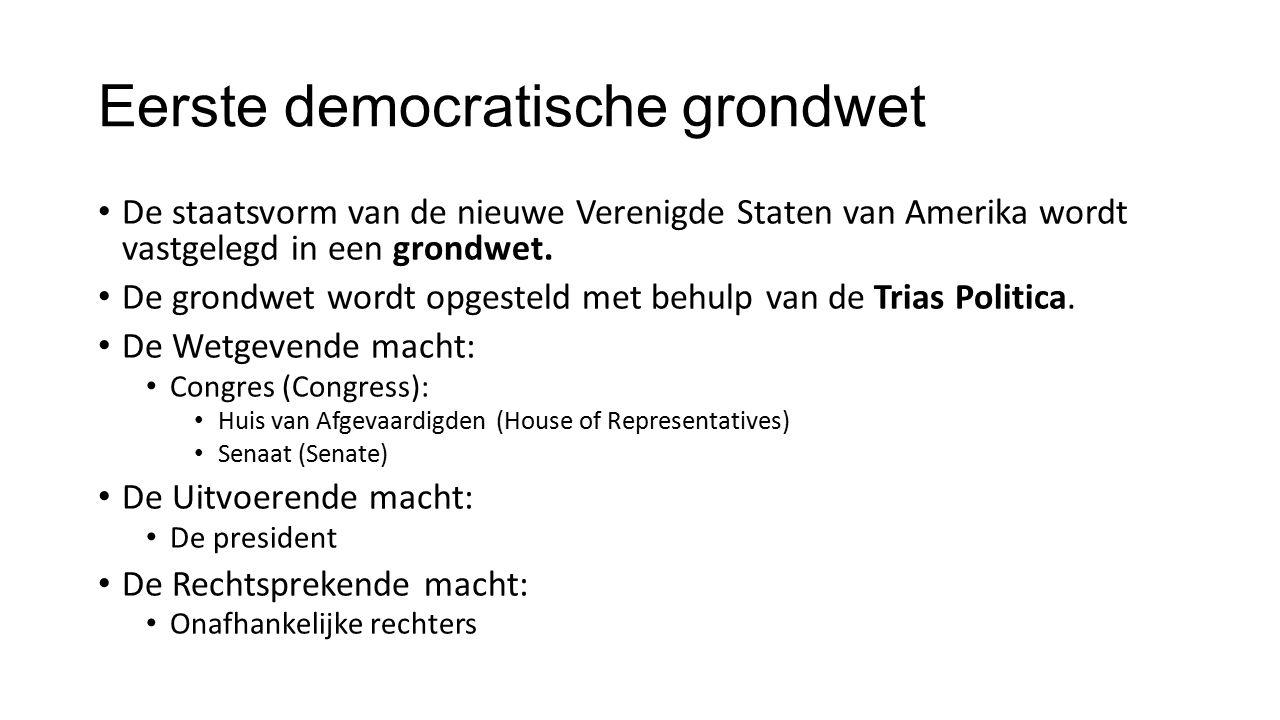 Eerste democratische grondwet