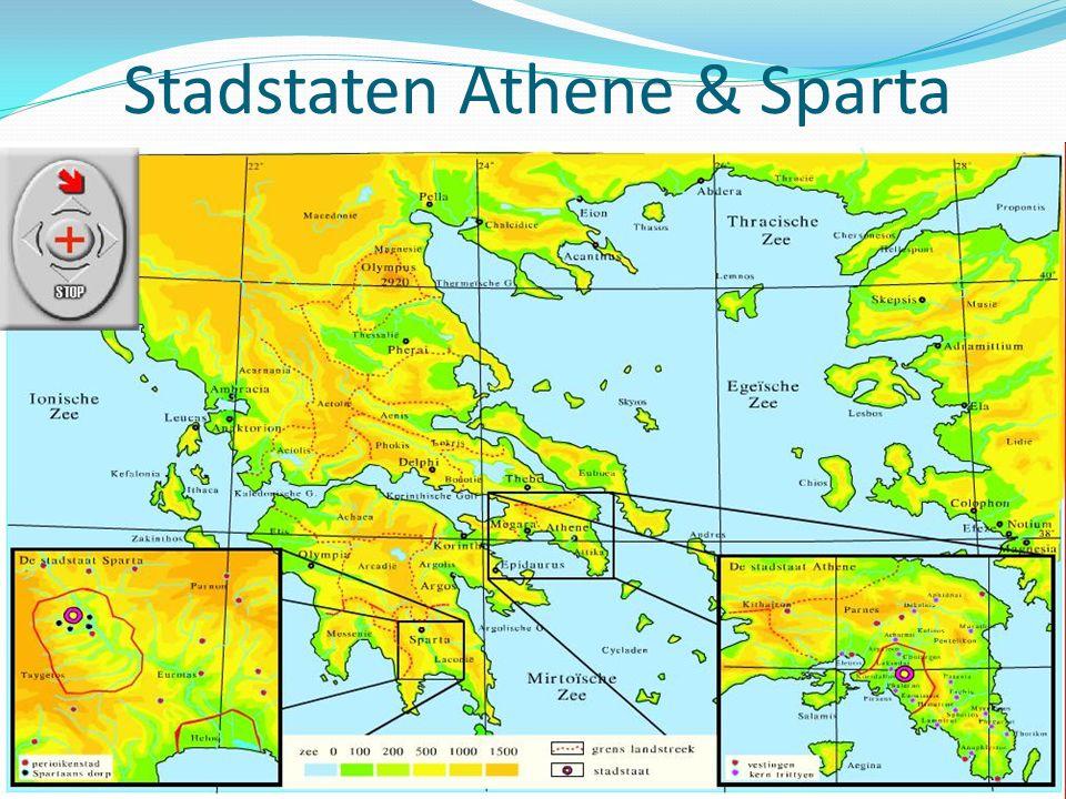 Stadstaten Athene & Sparta