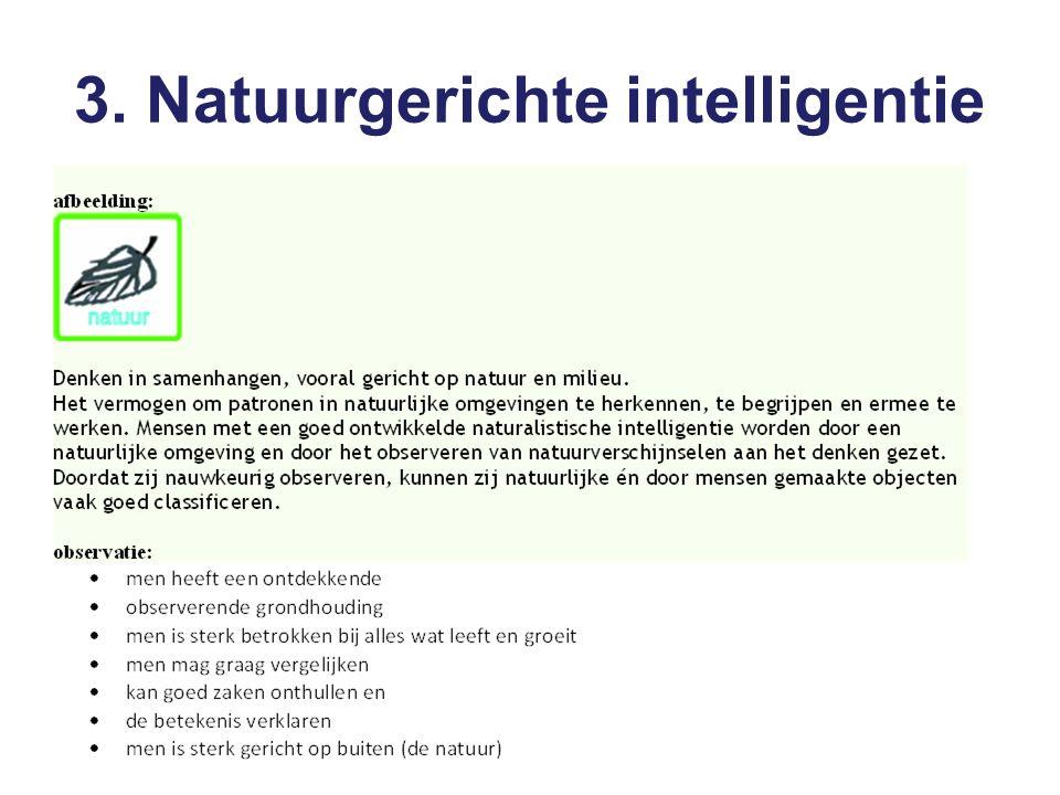 3. Natuurgerichte intelligentie