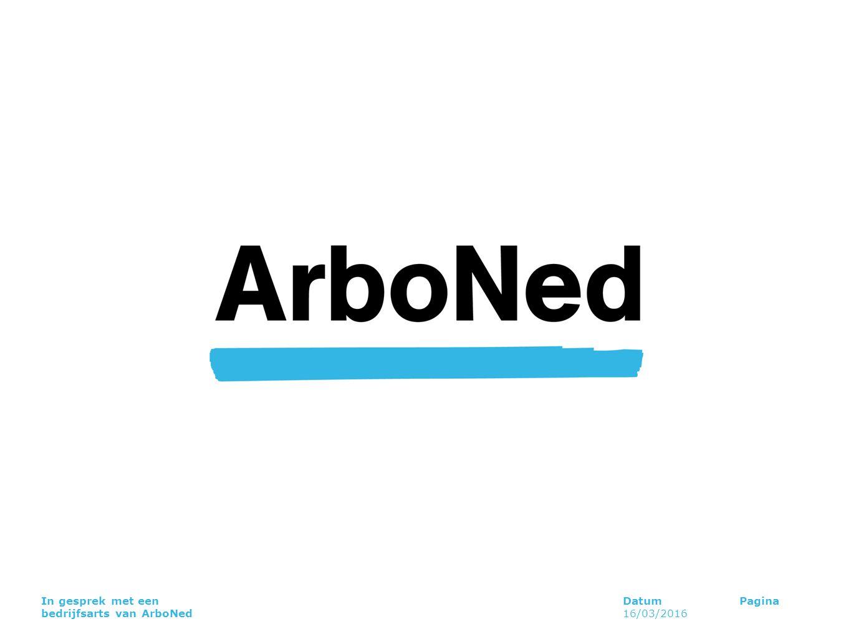 In gesprek met een bedrijfsarts van ArboNed