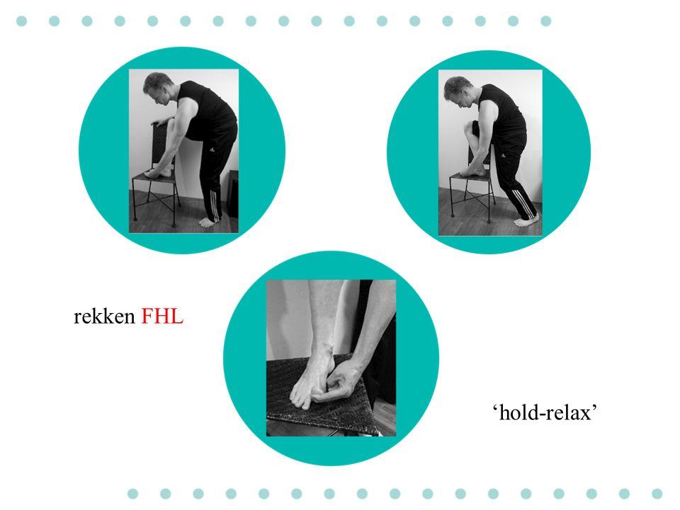 rekken FHL 'hold-relax'